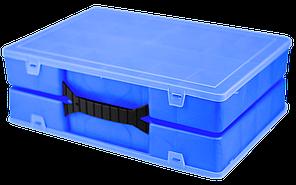 Органайзер подвійний 304х206х100 мм Синій