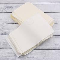 Набор для пэчворка из лоскутов тканей ванильного цвета №137