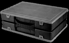 Органайзер подвійний 355х250х110 мм Чорний