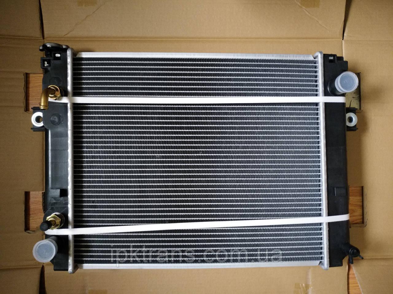 Радиатор водяной погрузчика TCM FG20-30T6 Nissan H20  236L2-10101, 236L210101