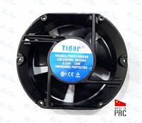 Универсальный осевой вентилятор (овальный) 172*150*50мм, 220В, 0,29А (Tidar, Китай)