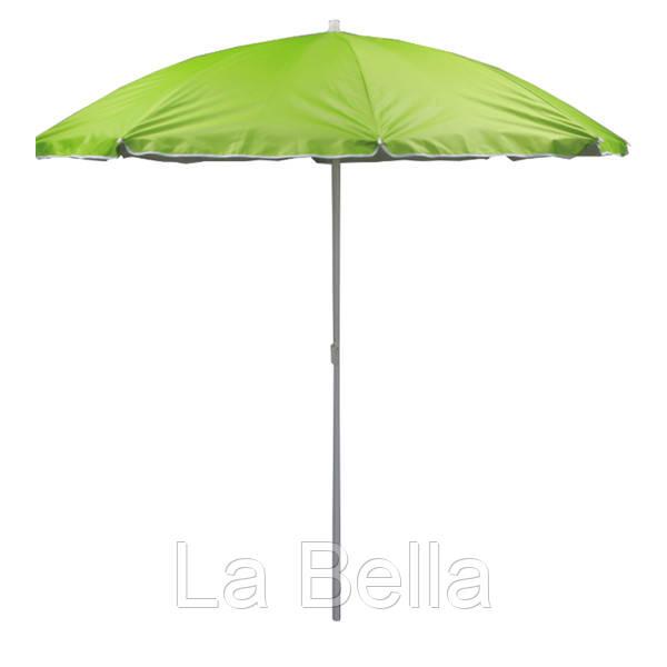 Зонт пляжный  1.8 м салатовый