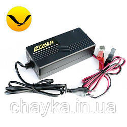 Импульсное зарядное устройство Fisher 10А. (Для аккумуляторов GEL, AGM);