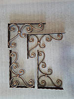 Кованый кронштейн полки, фото 1