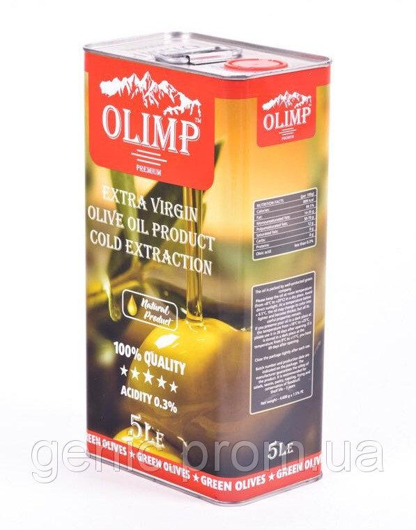 Оливковое масло OLIMP Extra Virgin Gold Extraction (первый отжим), 5л
