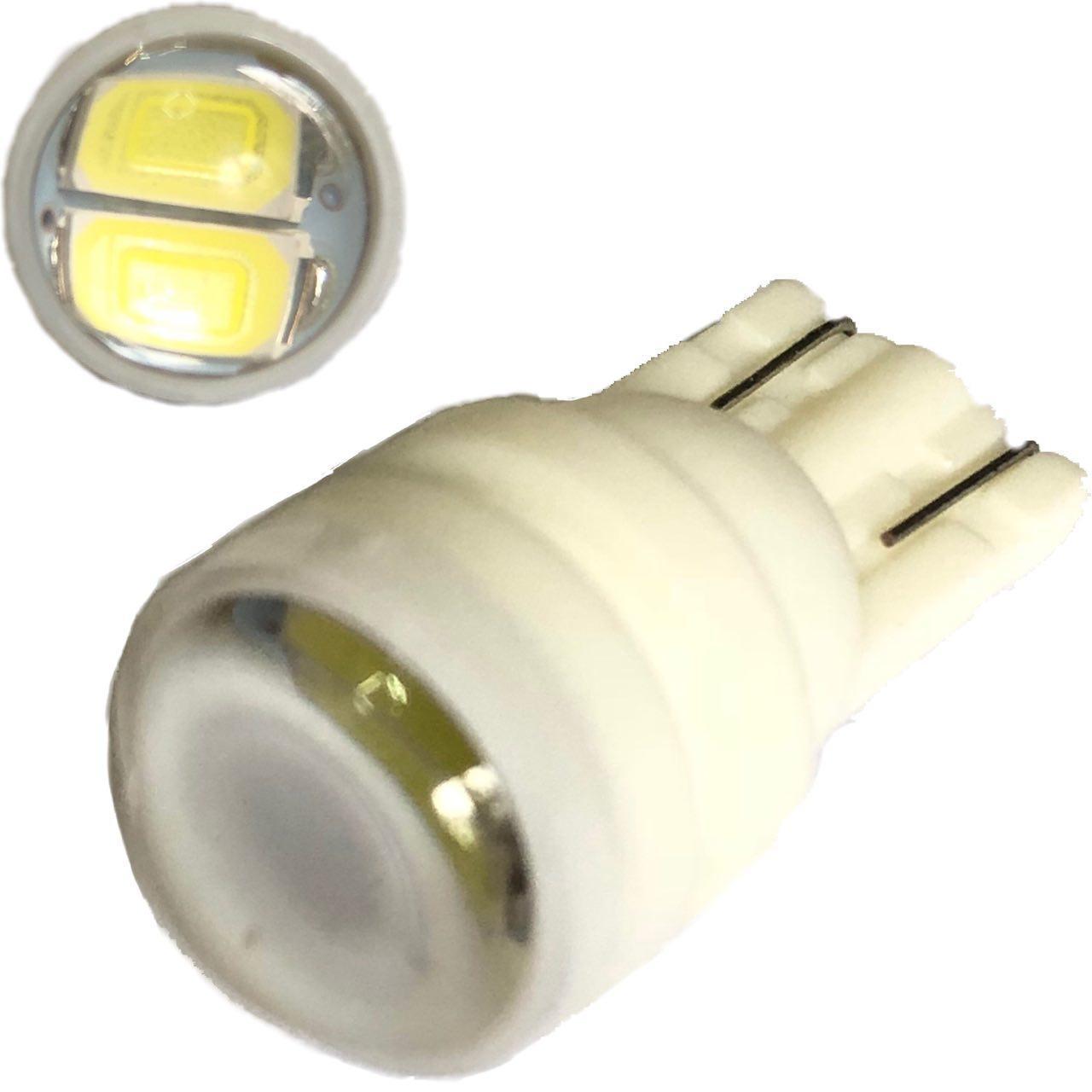 Лампа LED 12V T10 (W5W) 2SMD 5630 60Lm БЕЛЫЙ