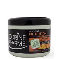 МАСКА ПИТАТЕЛЬНАЯ ДЛЯ ВОЛОС С МАСЛОМ МАНГО - Corine de Farme Nourishing Mask With Mango, 500 мл