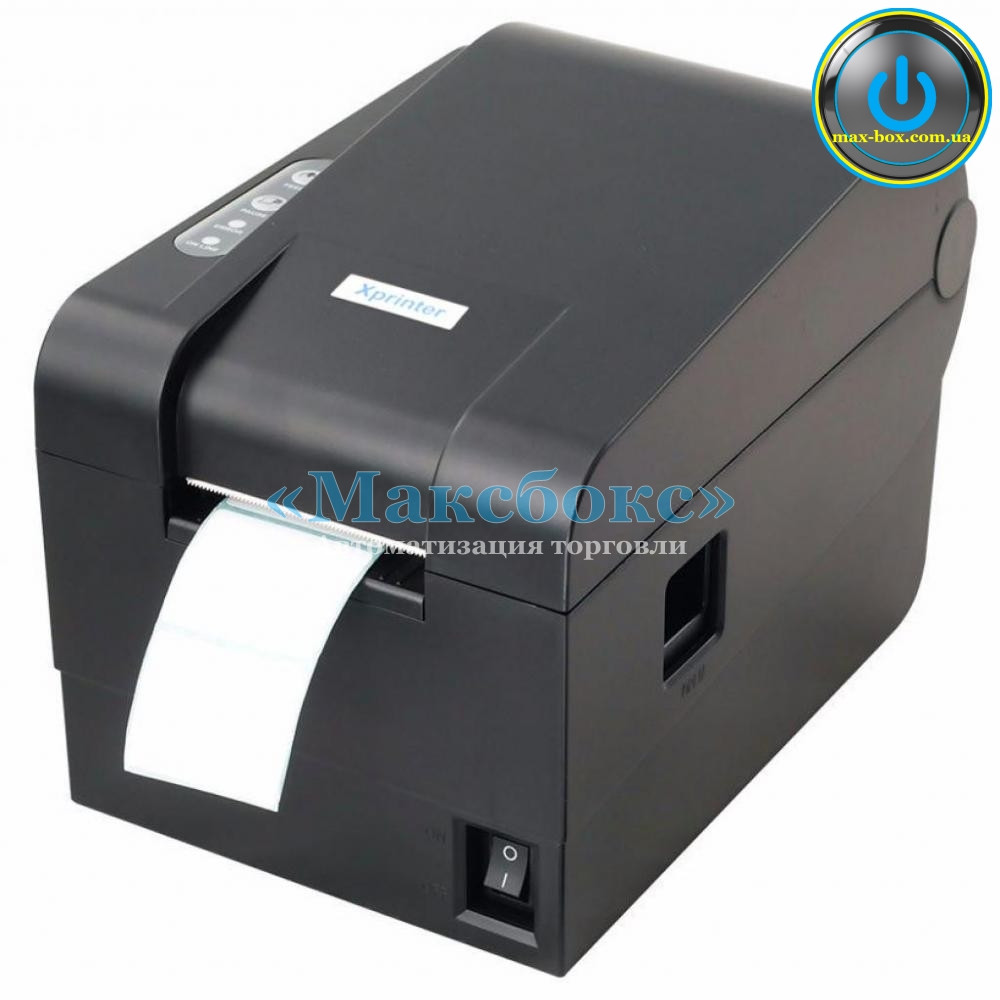 XPrinter XP-235B – Принтер штрих кодов для маркировки
