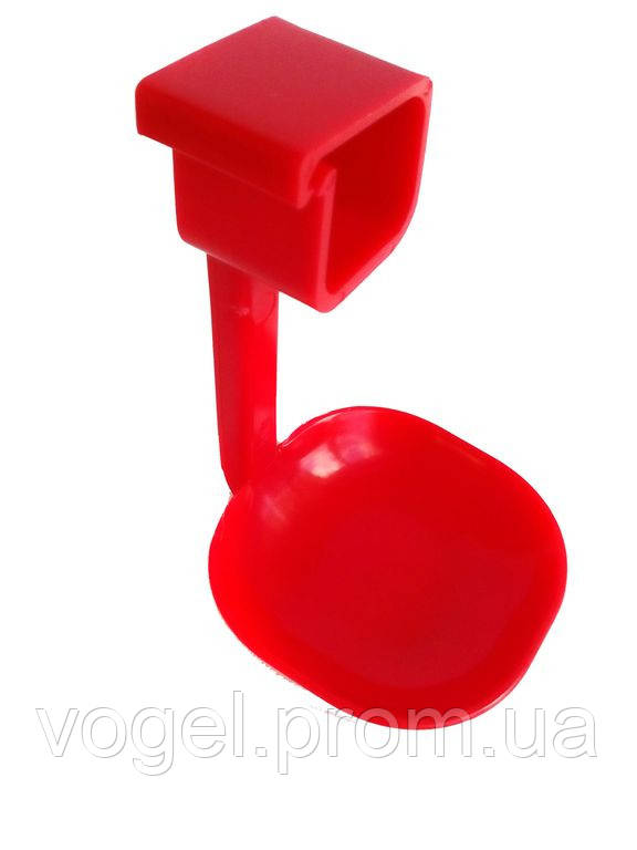 Краплеуловлювач для ніпельної системи поїння на 1 ніжці, Aytav, фото 1