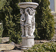 Садовая скульптура Три Ангела SS12075-58 цвет бежевый., фото 1