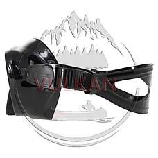 Маска Marlin Frameless Duo black с просветленным стеклом, фото 3