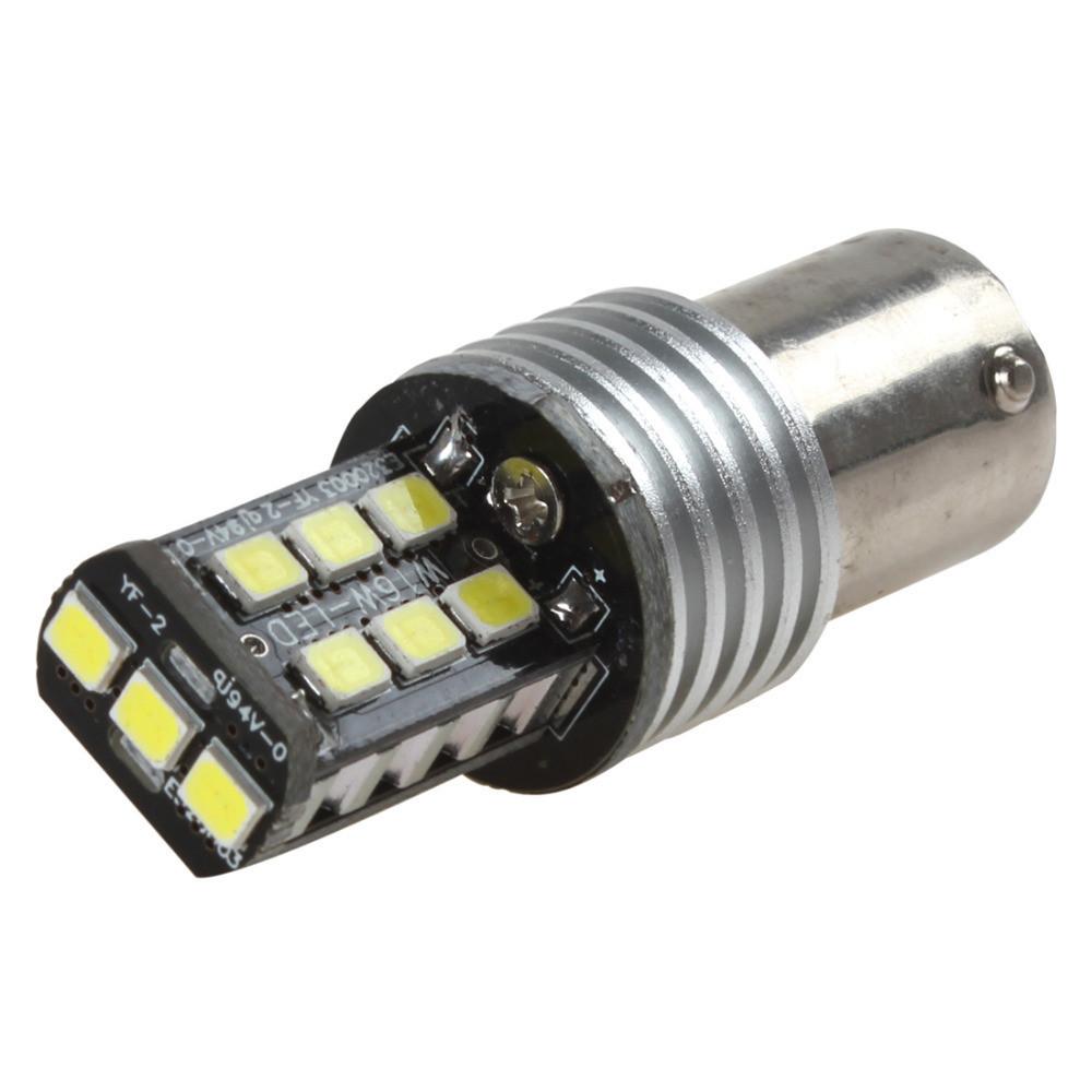 Лампа LED 12V 1156 48SMD 3014 стоп-стробоскоп силикон 25Lm КРАСНЫЙ