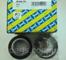 Подшипник передней ступицы c АБС RenaultLogan 2 (SNR R155.75)(высокое качество)