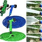 Шланг гармошка садовий для поливу легкий м'який з розпилювачем X-HOSE 75 метрів ОПТ, фото 5