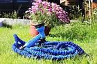 Шланг гармошка садовий для поливу легкий м'який з розпилювачем X-HOSE 75 метрів ОПТ, фото 3