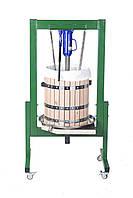 Пресс для яблок и винограда на 50 литров, гидравлический 10 тонн, фото 1