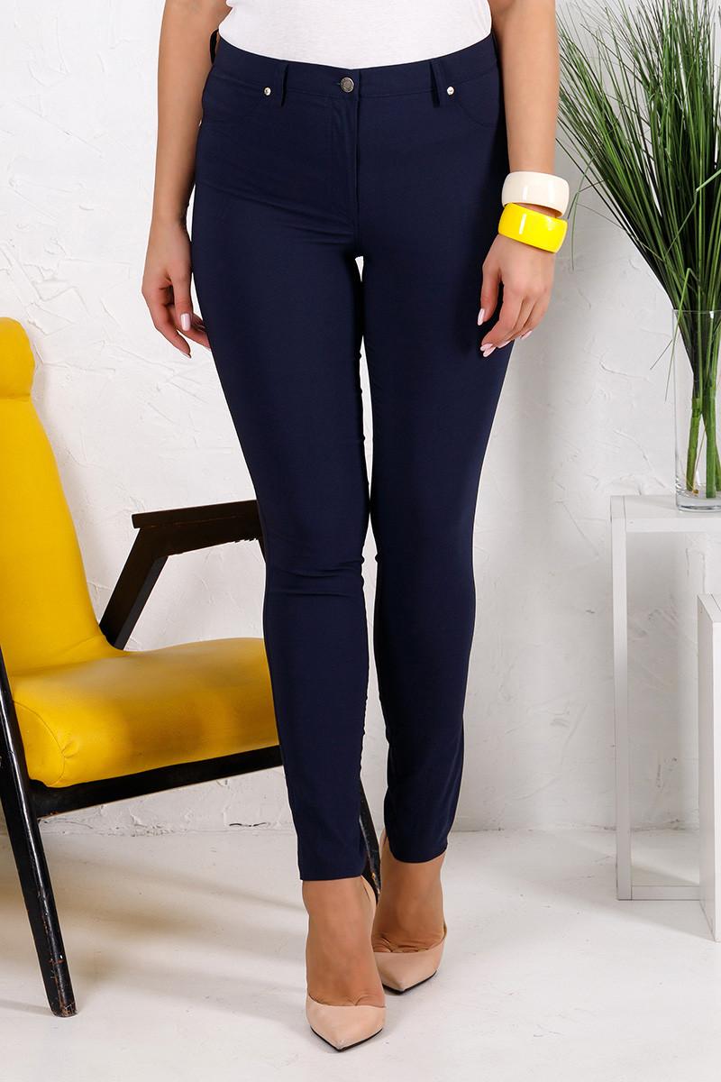 Женские брюки Алекса темно-синие