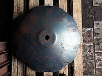 Диск ромашка/гладкий D=660 мм,кв 41,h=7мм (к боронам Kuhn, Kuhne арт. 437808,437809, 437809SM ), фото 5