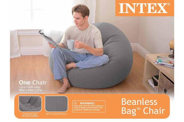 Надувное кресло Intex 68579 Габаритные размеры 107х104х69 см, фото 2