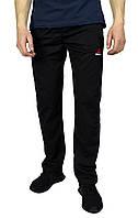 Черные мужские спортивные трикотажные штаны REEBOK, фото 1