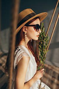 Шляпа федора Мирка капучиновая