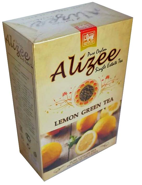 Чай зеленый листовой с лимоном Alizee Lemon Green Tea 100 г