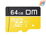 Карта памяти DM 64 GB microSDXC Class 10 (DM64GTF-U1)