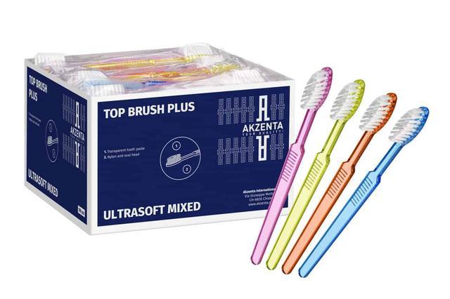 Одноразові зубні щітки