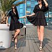Летнее платье с юбкой от груди  и открытой спиной, фото 3