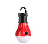 Фонарь походный подвесной 3DTOYSLAMP красный