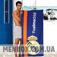 Спортивное пляжное полотенце Real Madrid - №4929