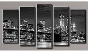 Модульная картина New York City-16 71х128 см (HAB-093)