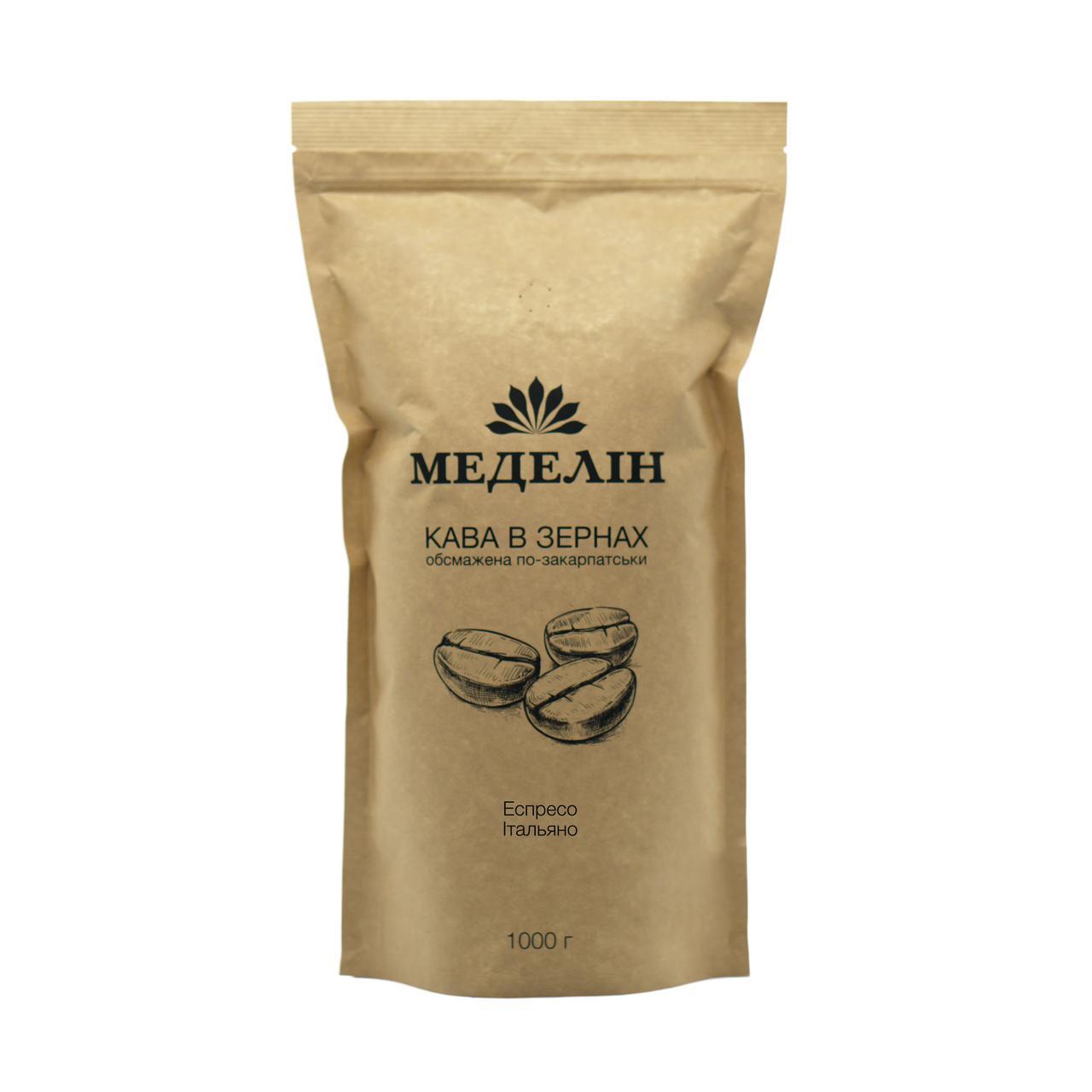 Кава Меделін espreso italiano, 1000 г
