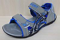 Подростковые босоножки сандалии для мальчика стелька пенка тм JG р.41