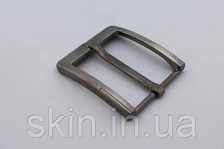 Пряжка ременная, ширина - 40 мм, цвет - никель, артикул СК 5385, фото 2