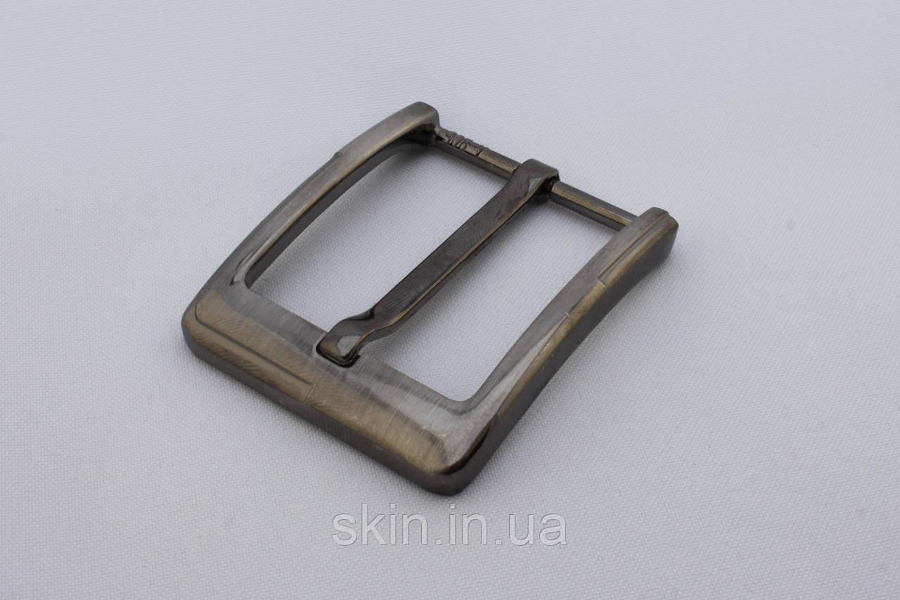 Пряжка ременная, ширина - 40 мм, цвет - никель, артикул СК 5385