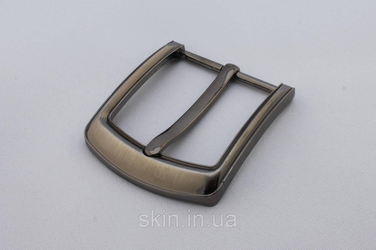 Пряжка ременная, ширина - 40 мм, цвет - никель, артикул СК 5386