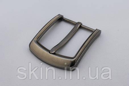 Пряжка ременная, ширина - 40 мм, цвет - никель, артикул СК 5386, фото 2