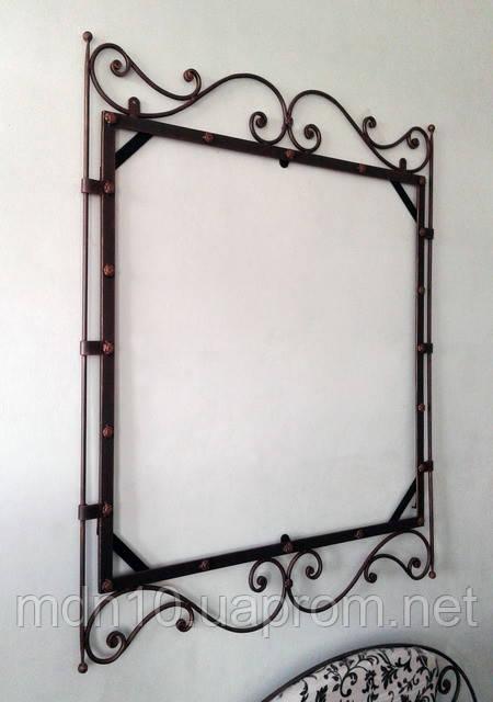 Кованая рама зеркала  - 02
