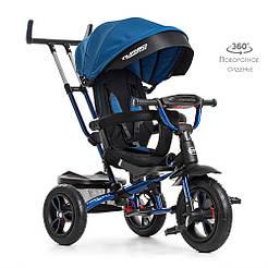 Велосипед M 4058-10 Синий TURBOTRIKE