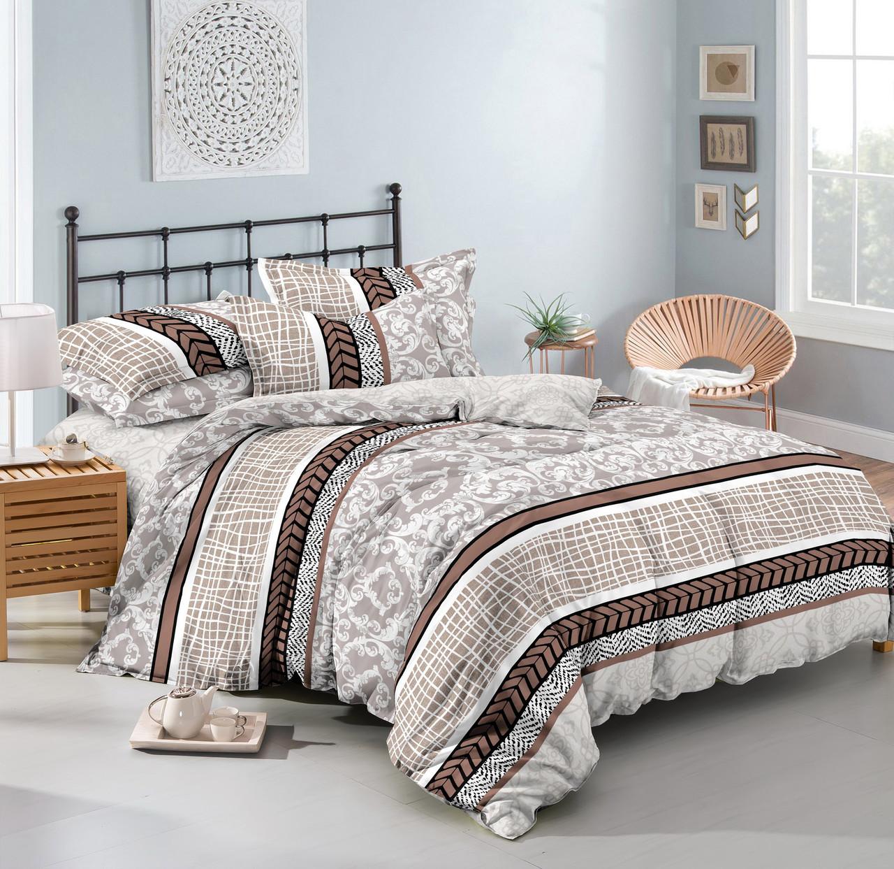 Двуспальный комплект постельного белья «Каролина» 178х215 см из полиэстера