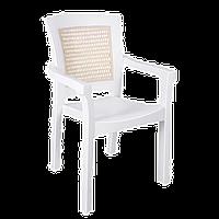 Кресло Irak Plastik Side белое
