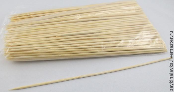 Шпажки бамбуковые 25 см, 100 штук - ООО Сан-Трейд. Доставка по Украине! в Одессе