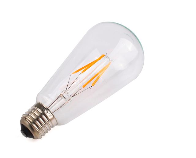 Прозрачные светодиодные лампы Filament