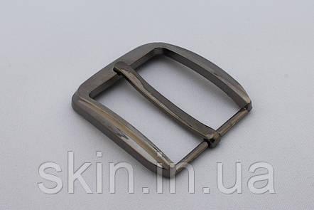 Пряжка ременная, ширина - 40 мм, цвет - никель, артикул СК 5387, фото 2