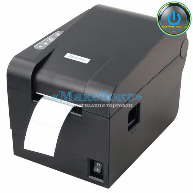 Принтер штрих кодов – XPrinter XP-235B