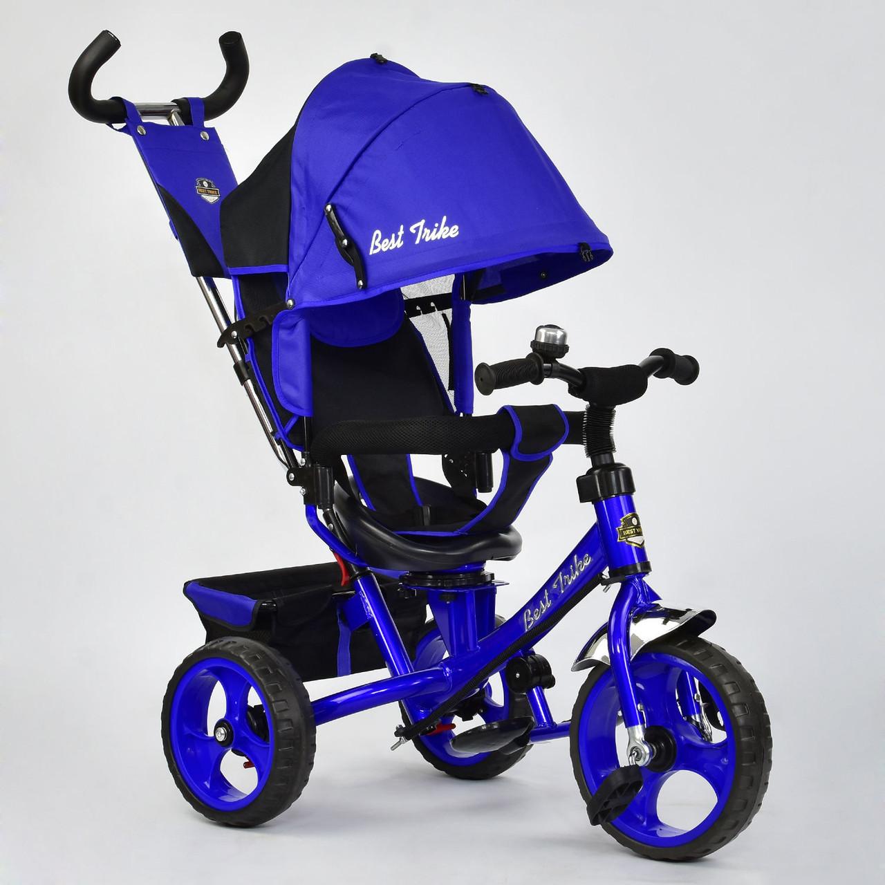 Детский трехколесный велосипед Best Trike 6570 Электрик Гарантия качества Быстрая доставка