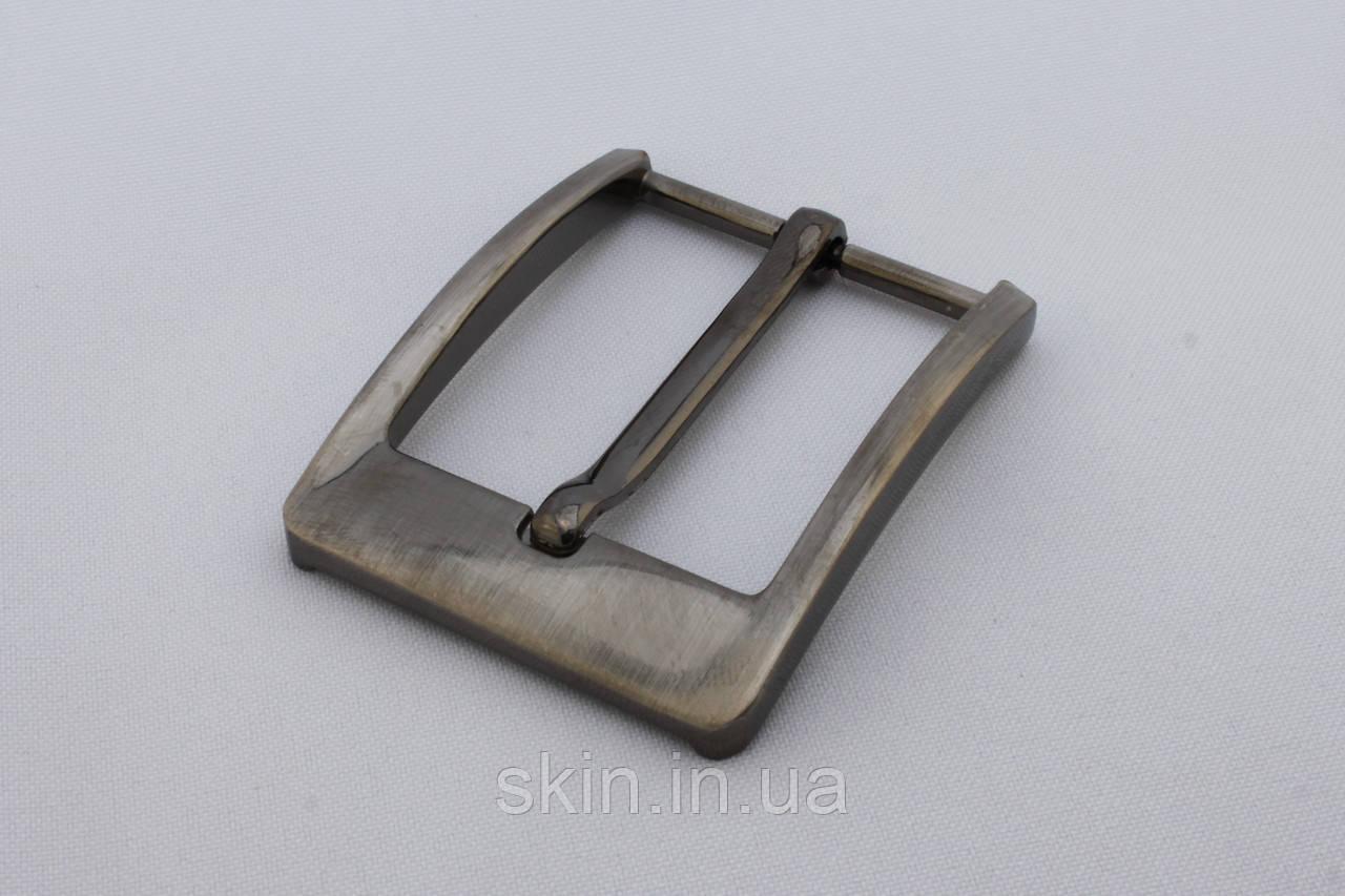 Пряжка ременная, ширина - 40 мм, цвет - никель, артикул СК 5388