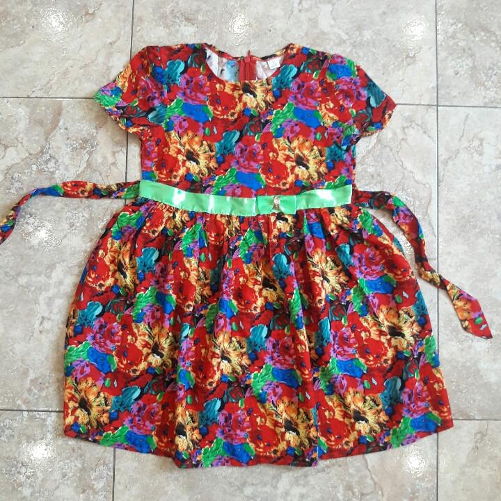Детское летнее платье