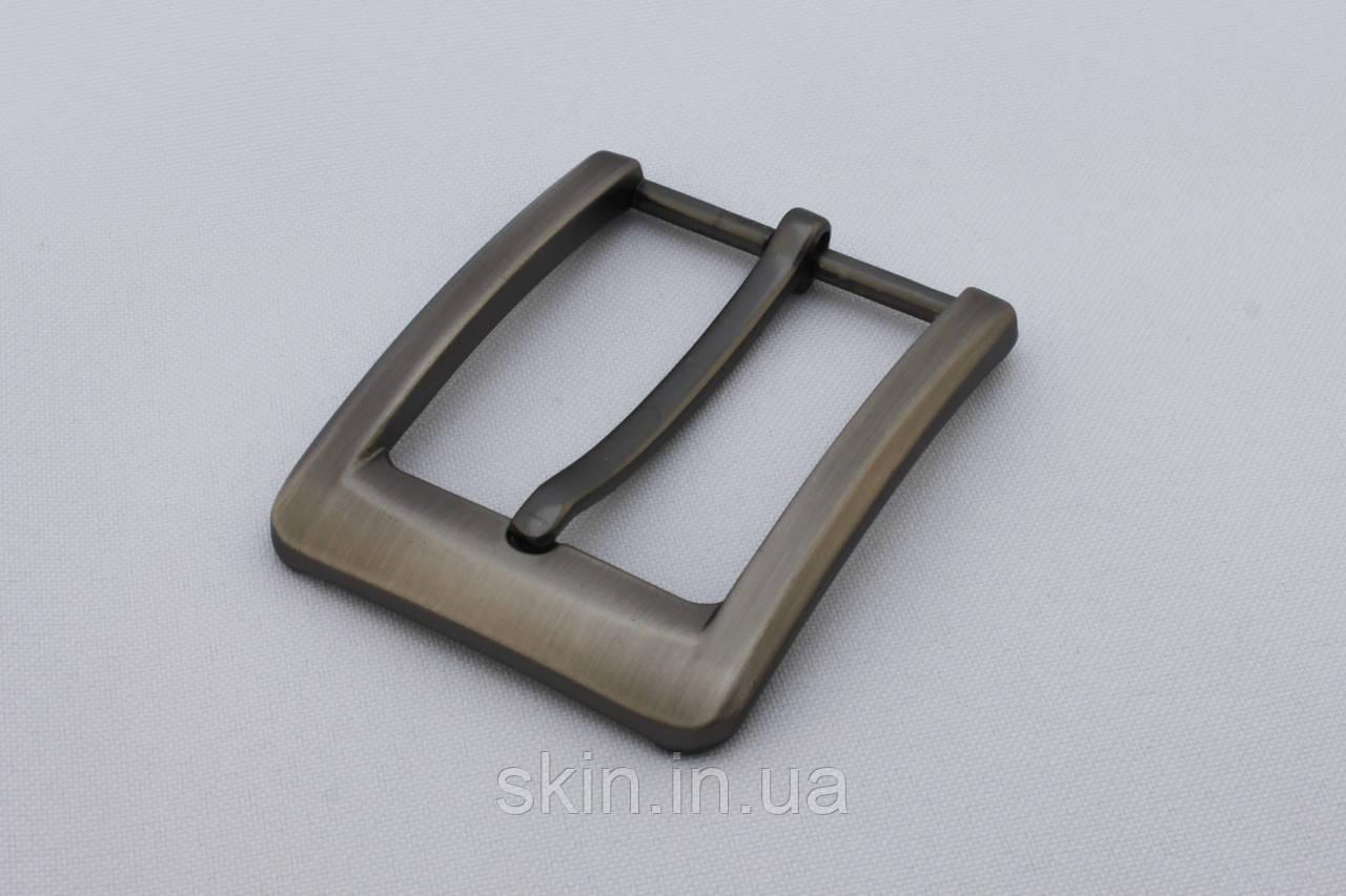 Пряжка ременная, ширина - 35 мм, цвет - сатен, артикул СК 5366